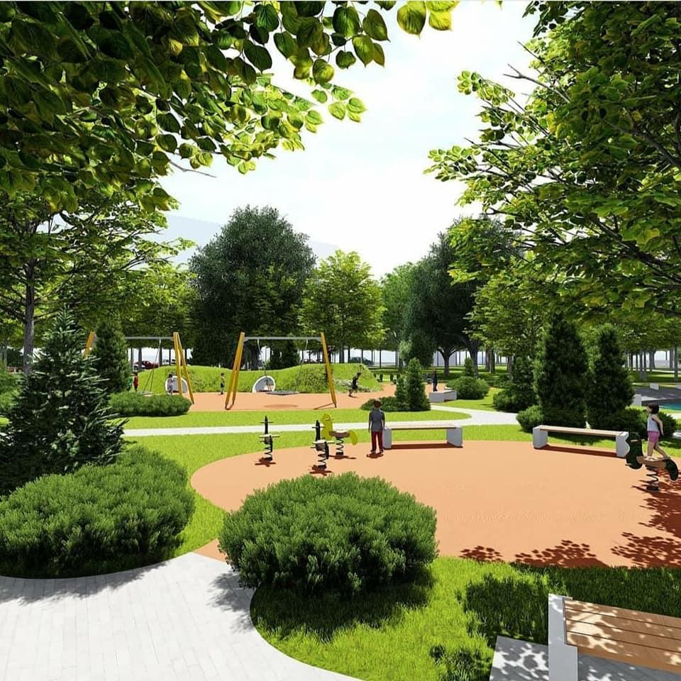 У Фастові оприлюднили проєкт реконструкції міського парку імені Гагаріна - Фастів, реконструкція, парк імені Гагаріна - 92711028 2937890499664952 5001756103596310528 n