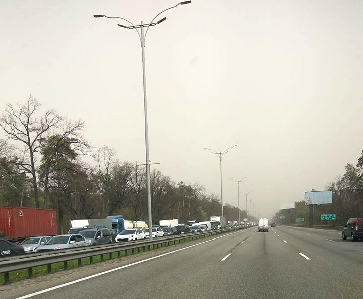 Через температурний скринінг водіїв при в'їзді в Київ утворився затор -  - 93020061 2876791422408132 8092010722613002240 o