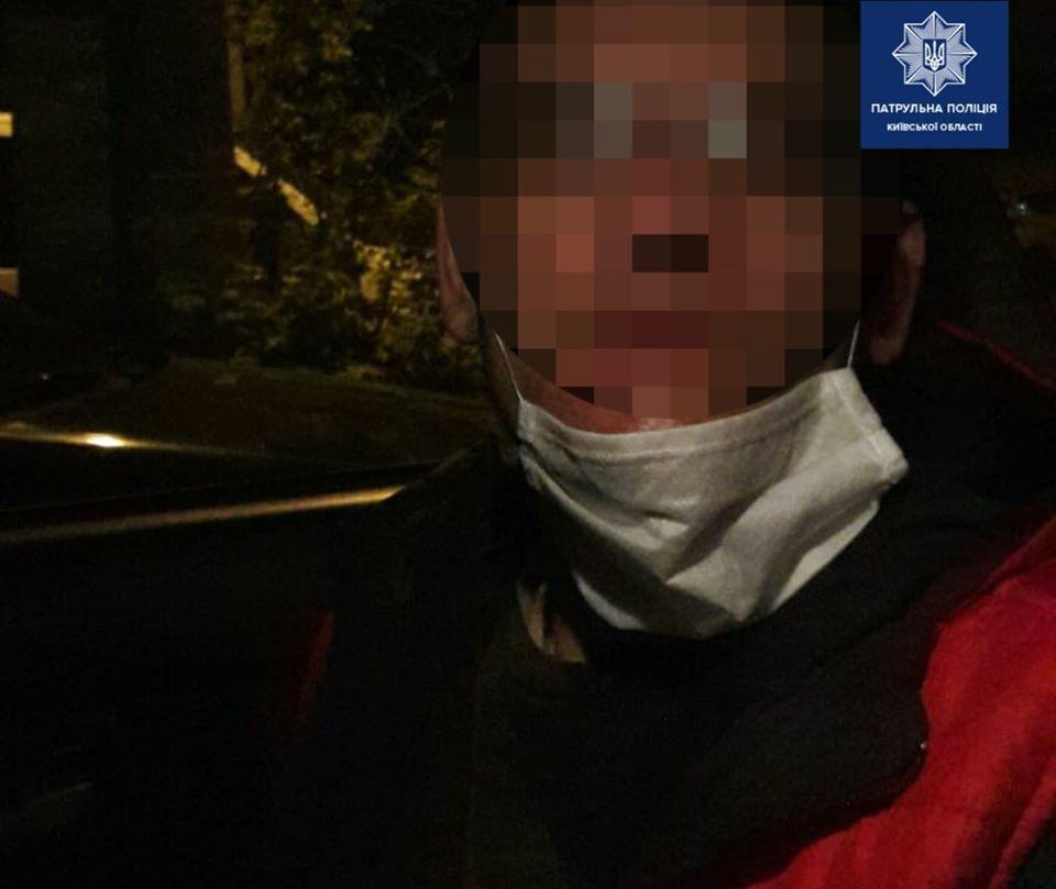 Бориспільські патрульні затримали крадія, якого шукали в Харкові -  - 93473460 1740142356159350 5829335574992912384 o