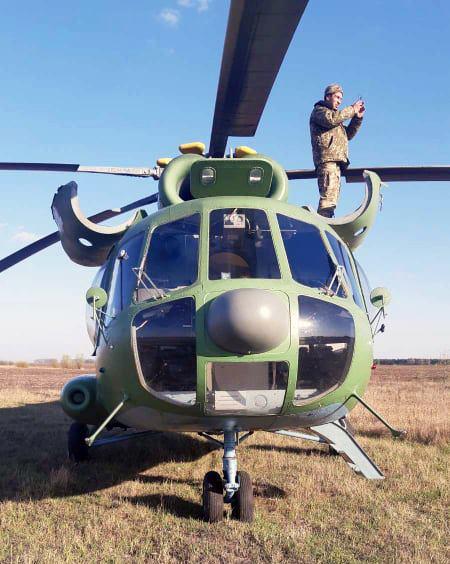 Військовий вертоліт здійснив аварійну посадку під Борисполем -  - 93944899 2747449328866463 1757642347149000704 n