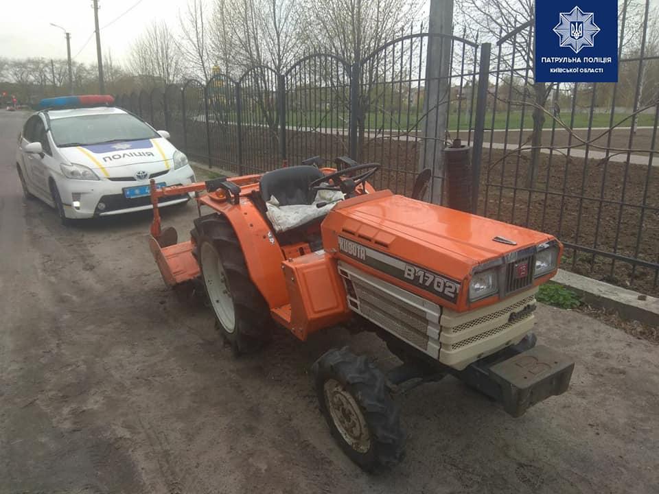 Бориспілець їхав містом на тракторі перед цим хильнувши чарчину -  - 94016520 1733132826860303 626900015003992064 n