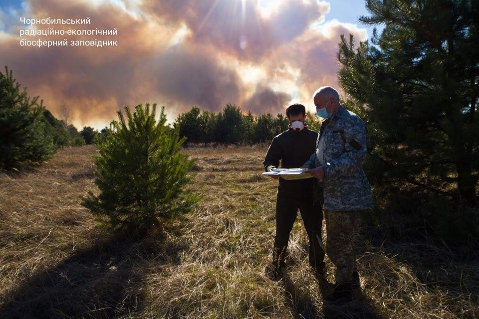 11,5 тис га території Чорнобильського заповідника постраждало від пожеж -  - 94050090 648937675663323 8823186380285804544 o