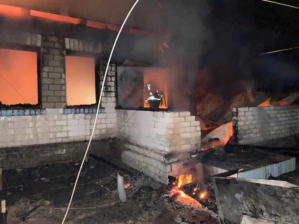 На Броварщині згорів житловий будинок: є загиблий -  - 94069915 1574810256002548 4451211411590217728 o