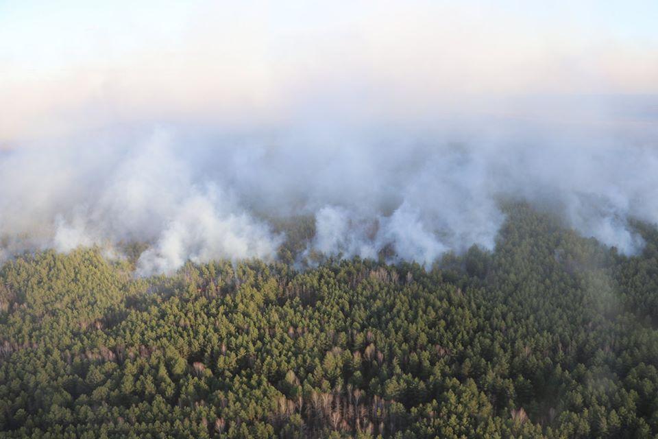 На Обухівщині та Вишгородщині горять торфовища: продовжують гасити пожежі у зоні відчуження -  - 94267770 3403555283007899 6149410195886833664 n