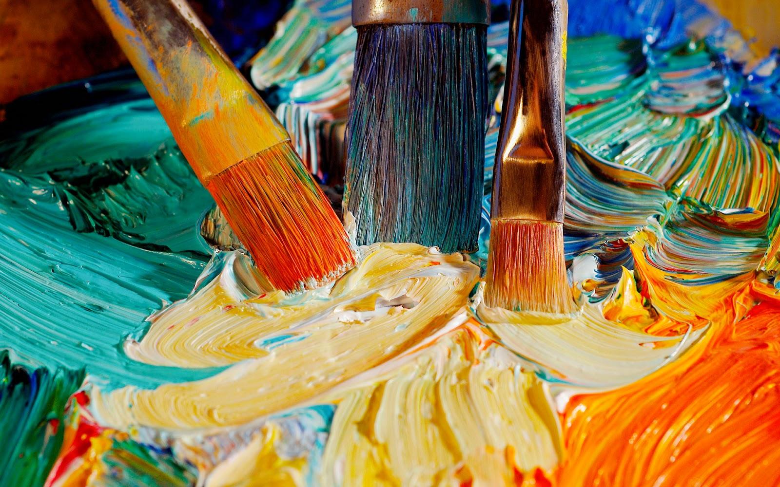 Митців Київщини запрошують долучитися до Міжнародного конкурсу -  - Creative Wallpaper Oil Paints 016850