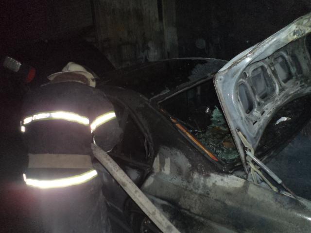 У Тетієві згорів «BMW-520» -  - DSC05145