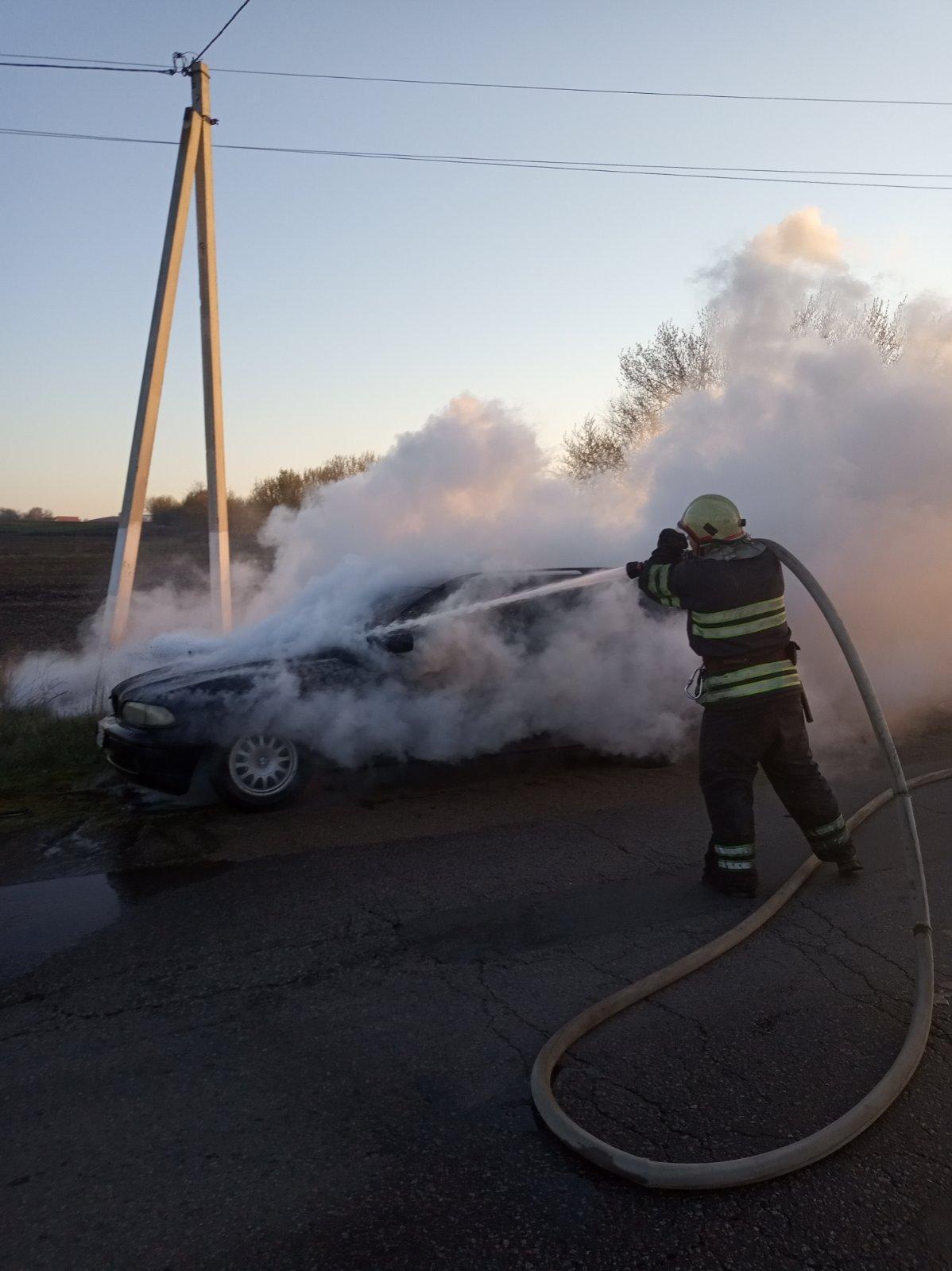У Миронівці вогонь пошкодив BMW -  - IMG 052c67a65b5430fe38c10df29f78f72c V