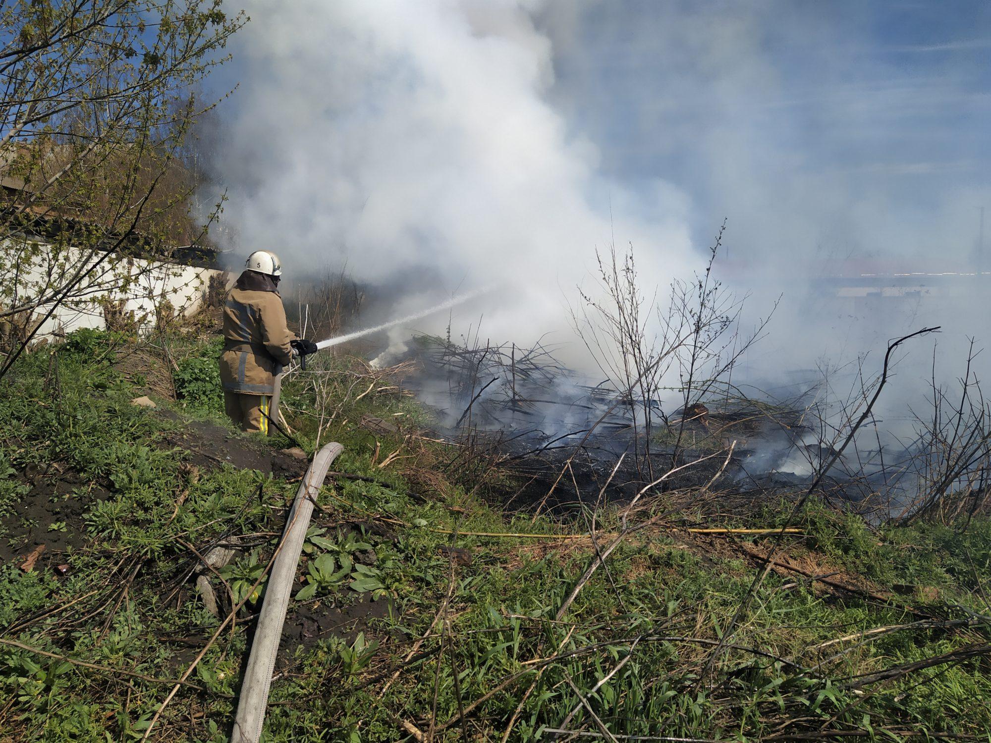 На Білоцерківщині сталось кілька загорань сухої трави та очерету - пожежі в екосистемах, Білоцерківщина - IMG 20200412 123131 2000x1500