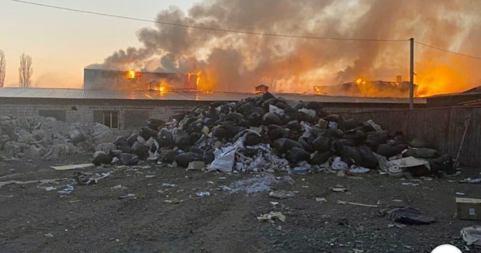 На Вишгородщині  горіло хімічне підприємство - Розслідування, пожежа, київщина, екологія, екологічне лихо, Вишгородський район - Lystop