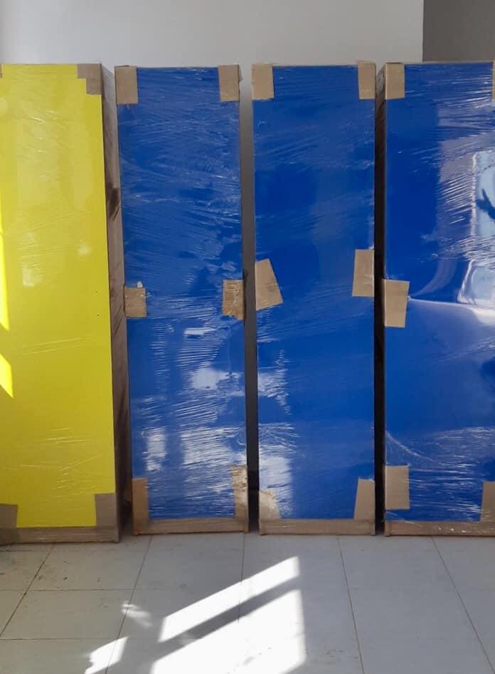 До нової бучанської школи завезли першу партію учнівських меблів для початкових класів - Приірпіння, Освіта, Нова школа, київщина, Бучанська ОТГ, Бучанська міська рада, Буча - Mebl 2