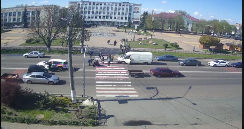 У Борисполі легковик на переході збив чоловіка (відео) -  - Novyj rysunok 5
