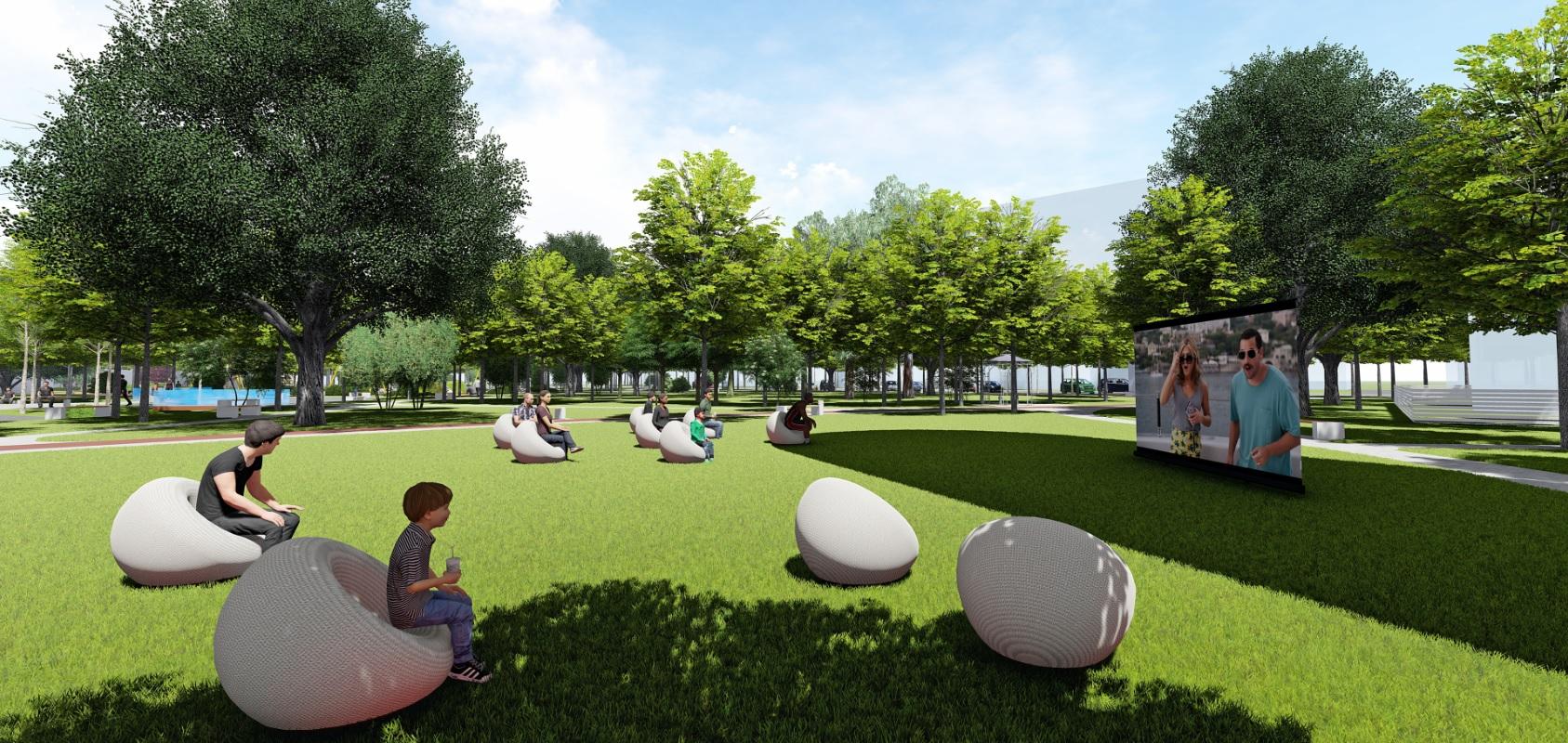 У Фастові оприлюднили проєкт реконструкції міського парку імені Гагаріна - Фастів, реконструкція, парк імені Гагаріна - Park11