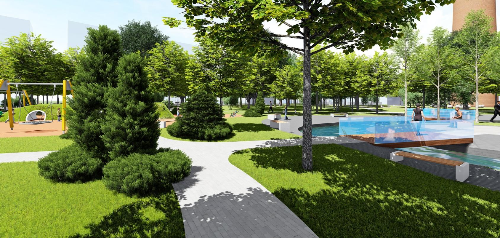 У Фастові оприлюднили проєкт реконструкції міського парку імені Гагаріна - Фастів, реконструкція, парк імені Гагаріна - Park13