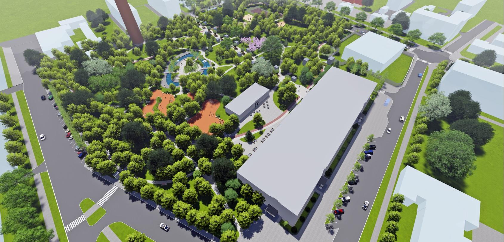 У Фастові оприлюднили проєкт реконструкції міського парку імені Гагаріна - Фастів, реконструкція, парк імені Гагаріна - Park15