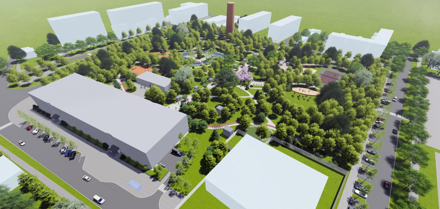 У Фастові оприлюднили проєкт реконструкції міського парку імені Гагаріна - Фастів, реконструкція, парк імені Гагаріна - Park16