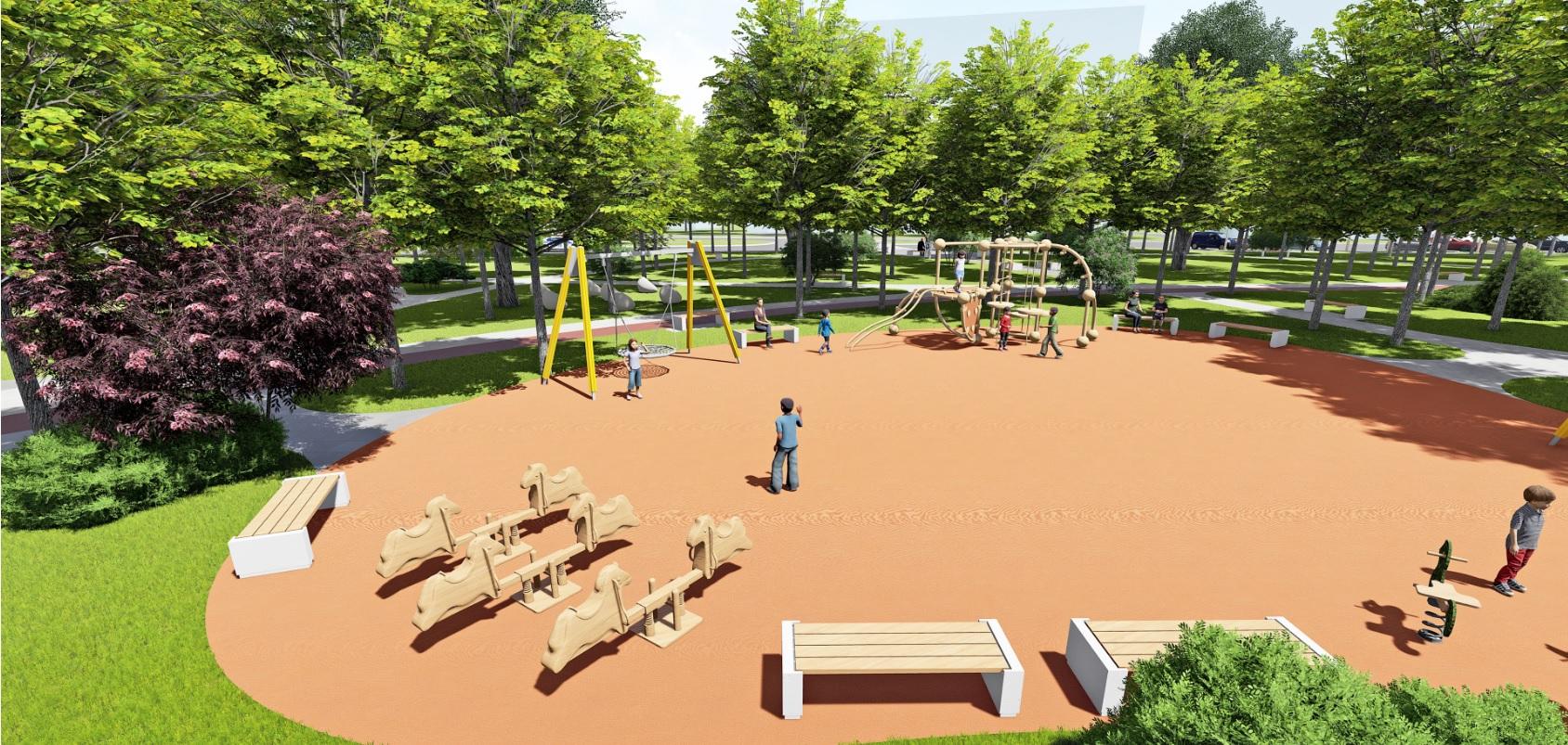 У Фастові оприлюднили проєкт реконструкції міського парку імені Гагаріна - Фастів, реконструкція, парк імені Гагаріна - Park6