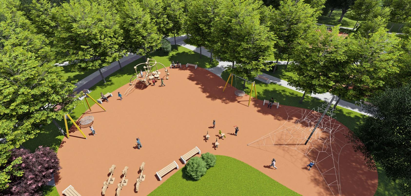 У Фастові оприлюднили проєкт реконструкції міського парку імені Гагаріна - Фастів, реконструкція, парк імені Гагаріна - Park7