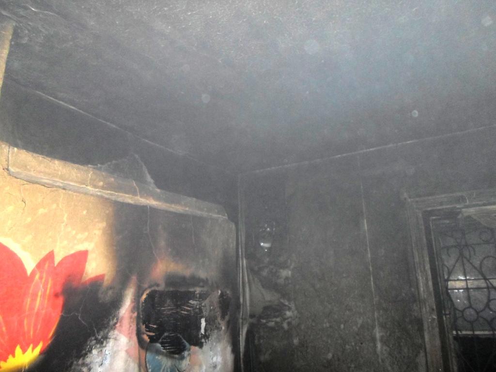На Миронівщині вогонь пошкодив житловий будинок -  - SAM 0168