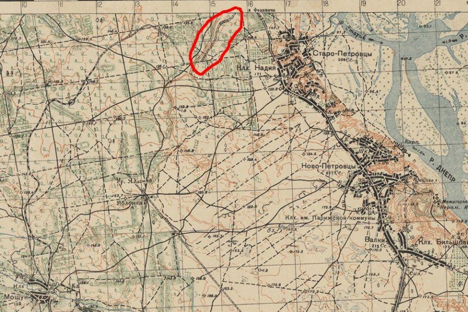 На Вишгородщині знайшли таємничий залізничний міст - Лютіж, київщина, Вишгородський район - Zal karta
