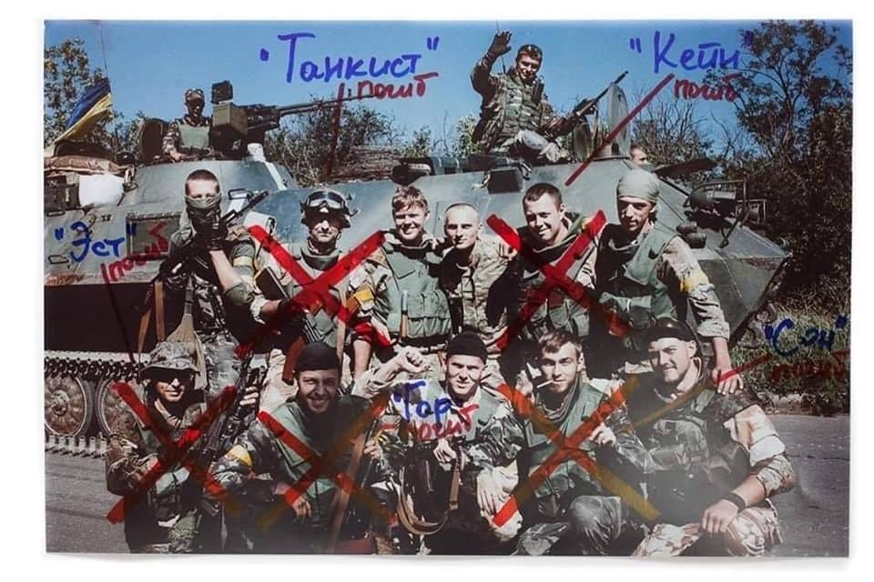 """""""Позначені червоним хрестом"""": портрети загиблих українських бійців -  - donbas4"""