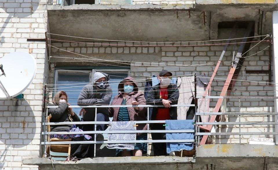Вишневе: як живуть мешканці гуртожитку в ізоляції -  - gurtozhytok1