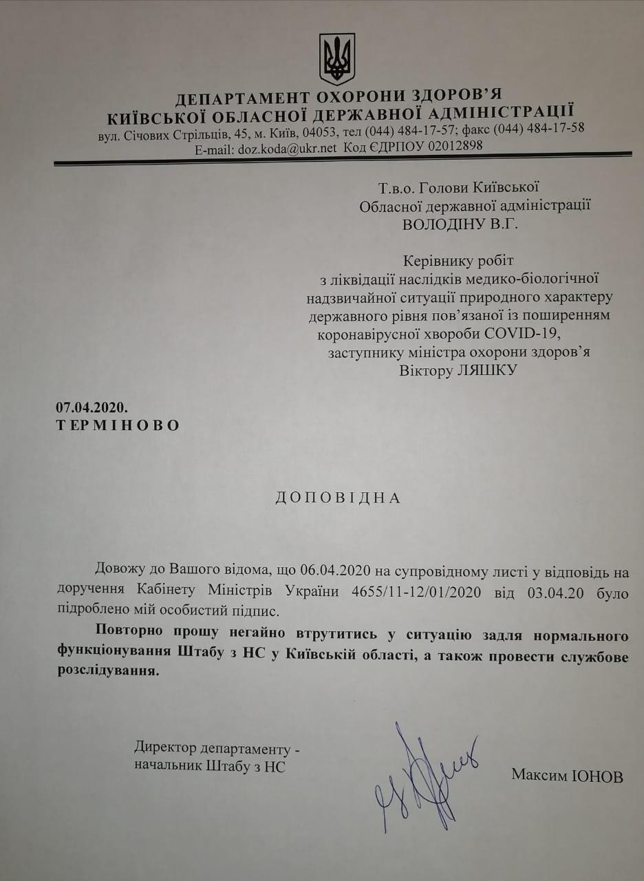 На Київщині заблокована закупівля апаратів ШВЛ -  - img 20200407 wa0000