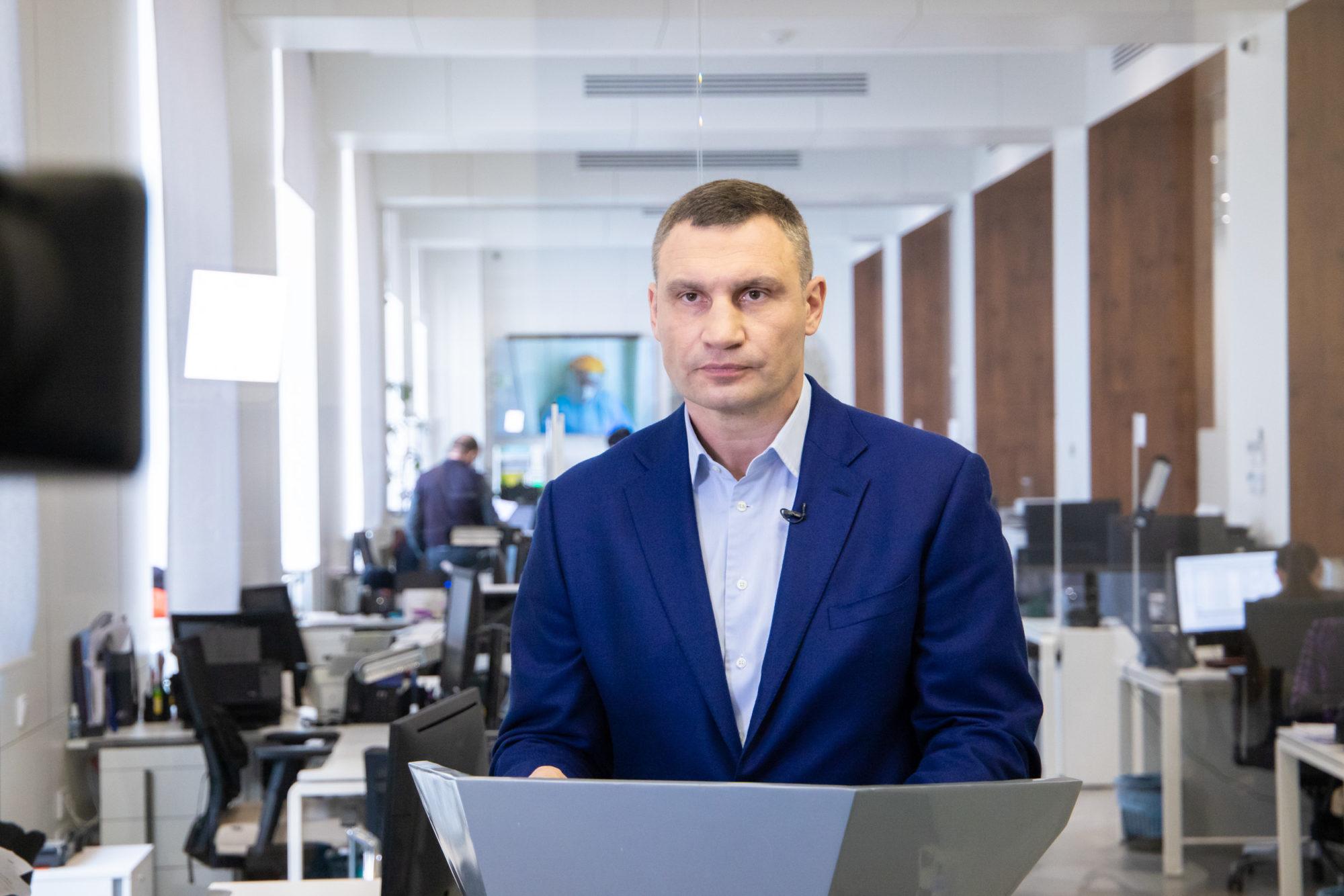 У Києві карантин, виключень для бодібілдерів, моржів немає - Кличко -  - imgbig 2000x1334