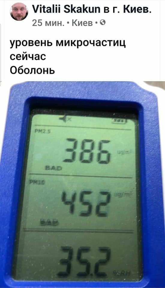 У Києві в повітрі зафіксовані продукти горіння, – КМДА - повітря, забруднене повітря - photo5244813620502703642