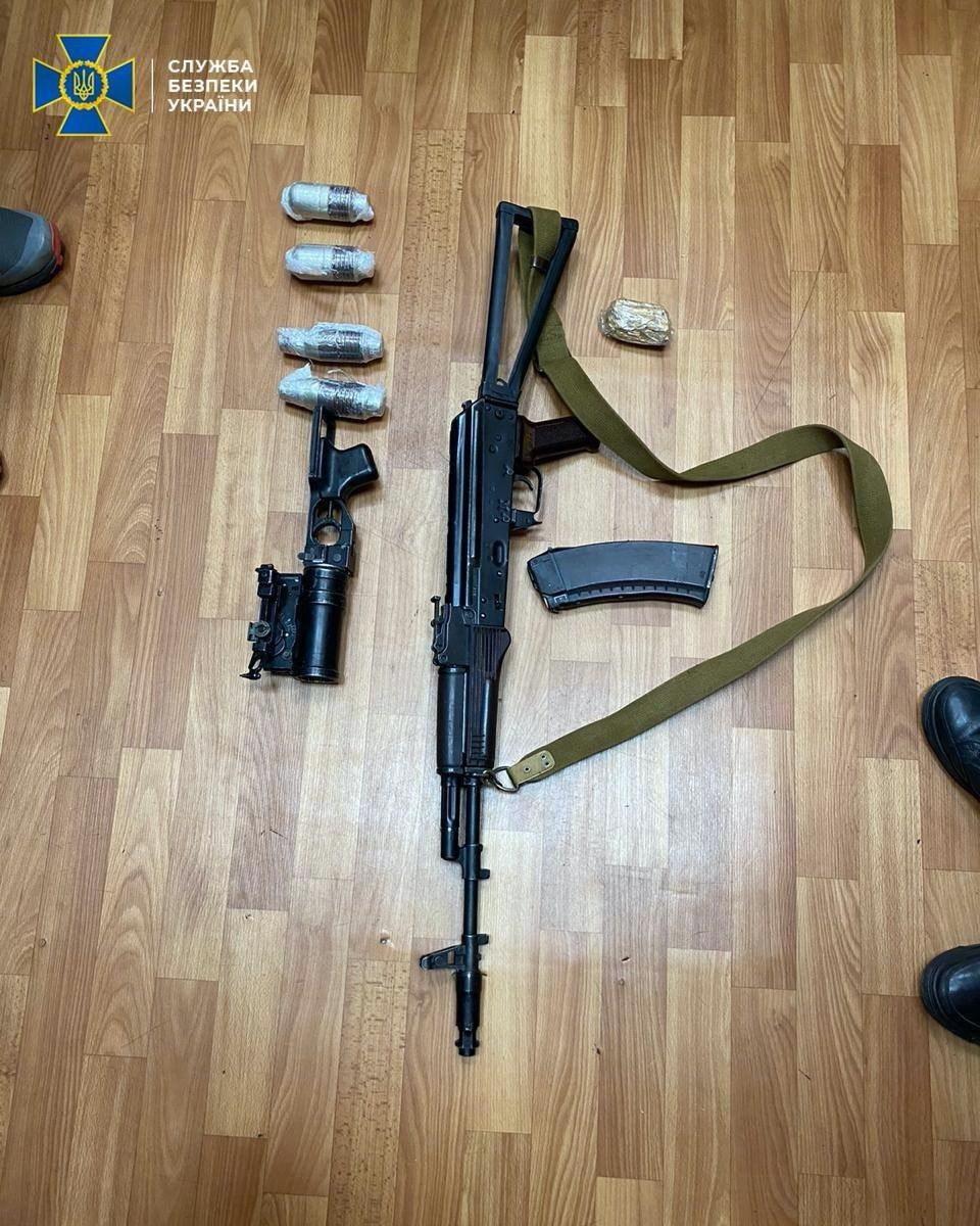 Київщина: чоловіки торгували зброєю, яку вивезли з району ООС -  - photo 2020 04 01 19 22 02
