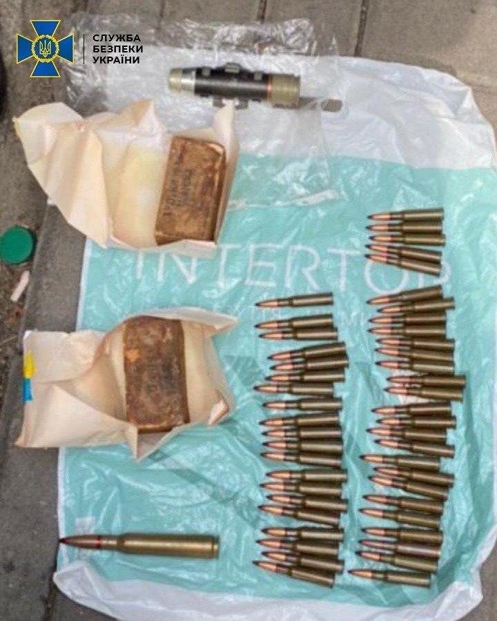 Київщина: чоловіки торгували зброєю, яку вивезли з району ООС -  - photo 2020 04 01 19 22 03