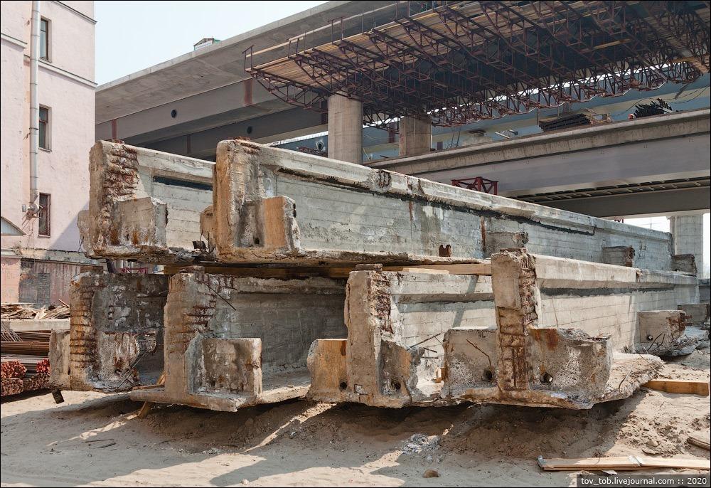 У Києві демонтують міст на Подолі - поділ - podilmist3