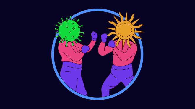 Захворіти на COVID-19 можна незалежно від погоди - коронавірус - pogoda