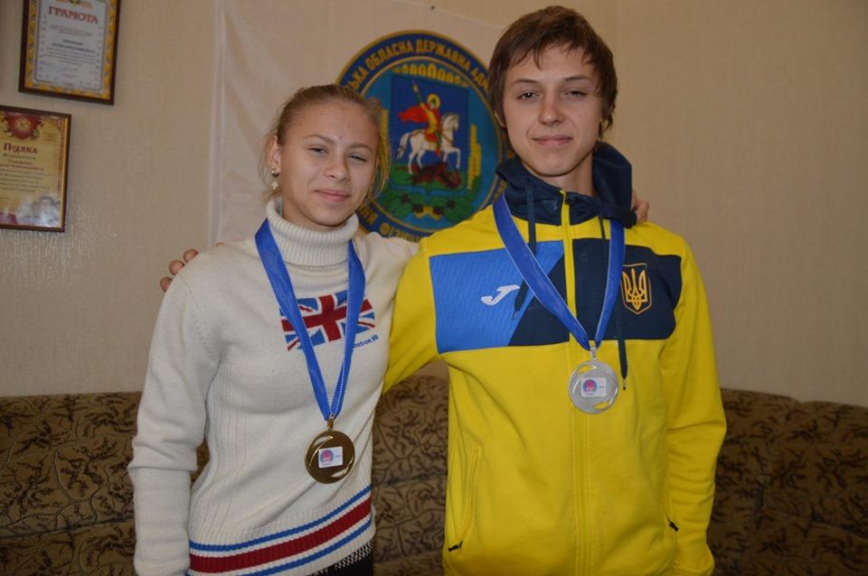 Провідних спортсменів та тренерів Київщини відзначили президентськими стипендіями -  - potapova samoylov