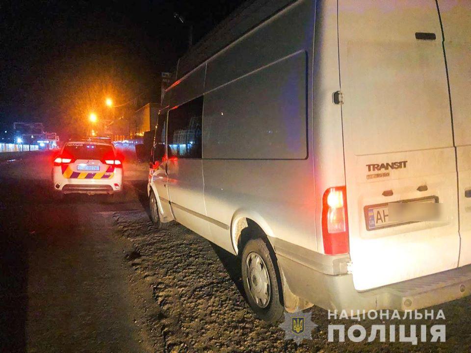 У Києво-Святошинському районі затримали п'яного водія - водій - vodij