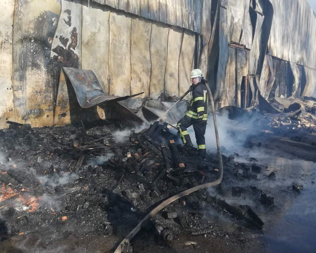 Загоряння трави спричинило масштабну пожежу овочесховища в Броварах -  - yzobrazhenye viber 2020 04 02 17 01 53