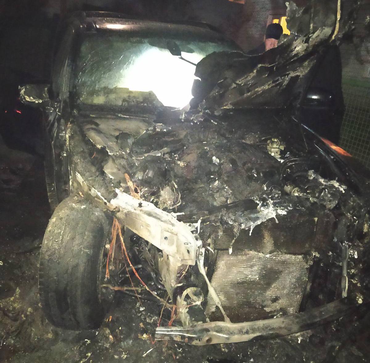 На Згурівщині вщент згорів BMW X5 -  - yzobrazhenye viber 2020 04 07 08 08 51