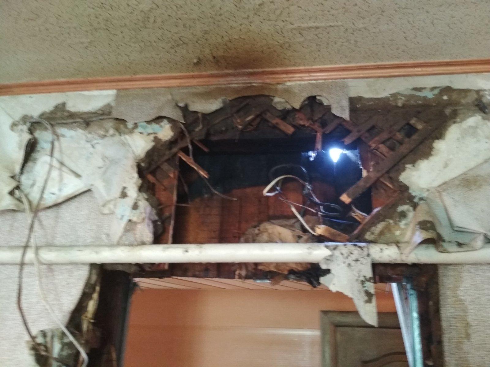 У Згурівці будинок ледь не згорів через стару електропроводку -  - yzobrazhenye viber 2020 04 28 10 50 02