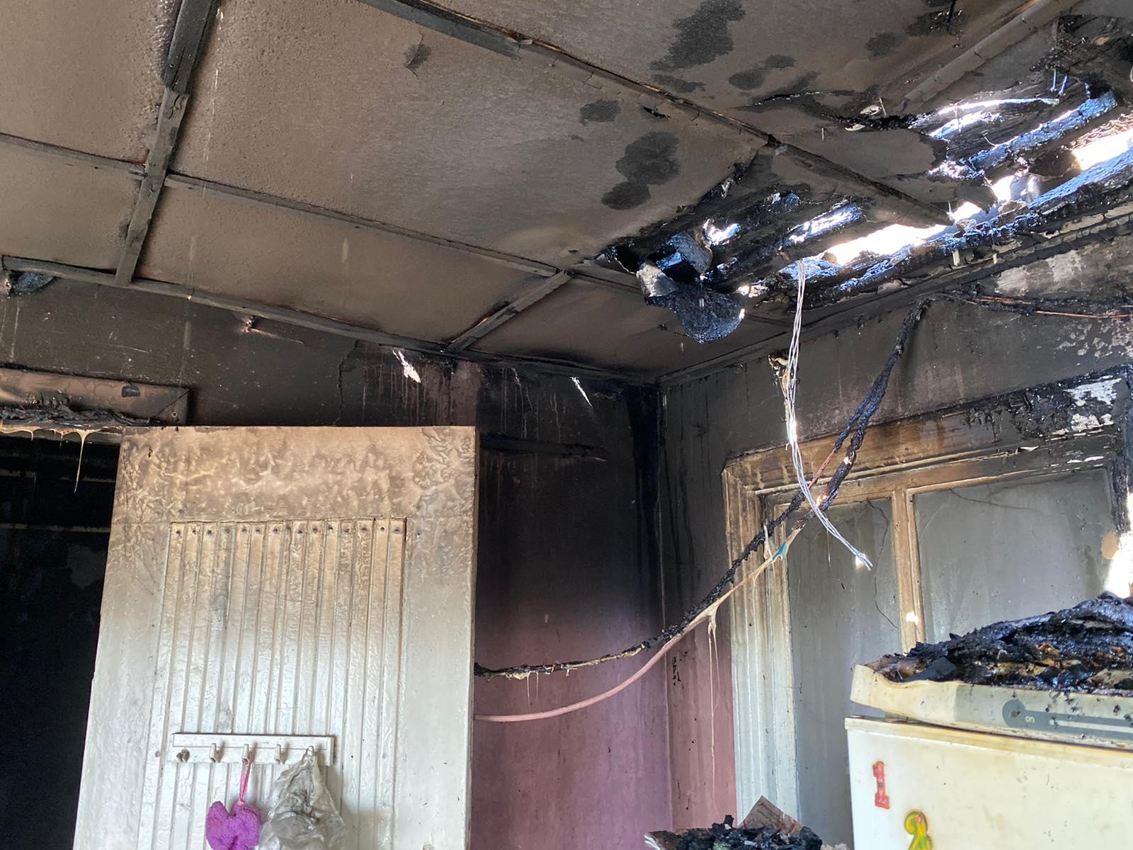 На Броварщині вогонь пошкодив житловий будинок -  - yzobrazhenye viber 2020 04 29 12 46 33i