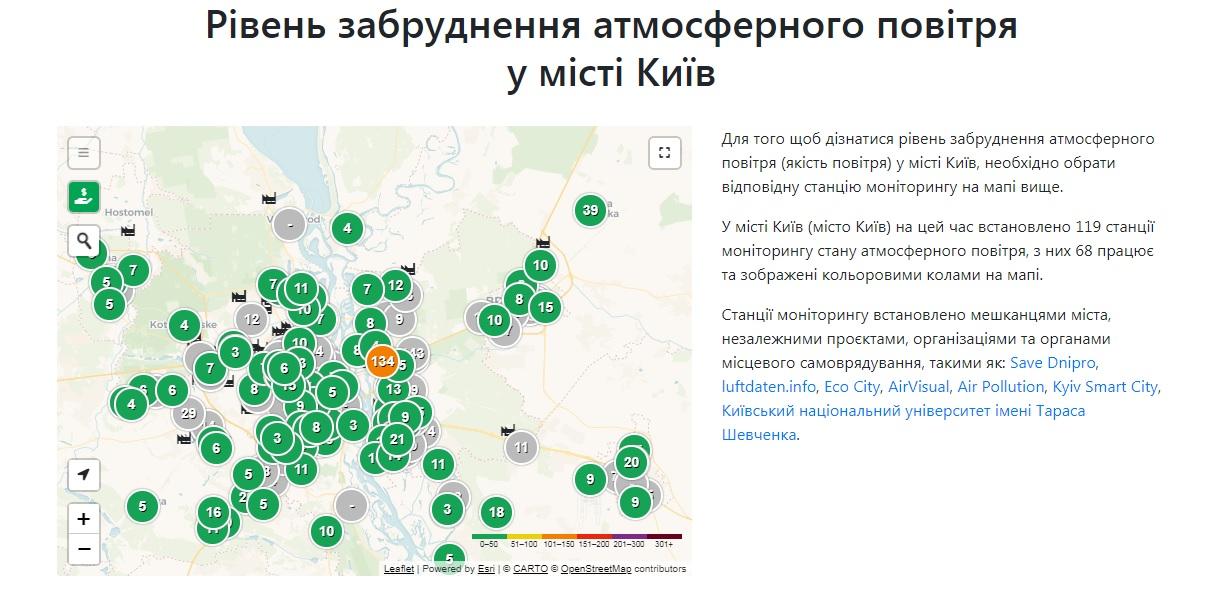 У Києві зафіксувано рекордно чисте повітря - повітря, забруднене повітря - 07 vozduh