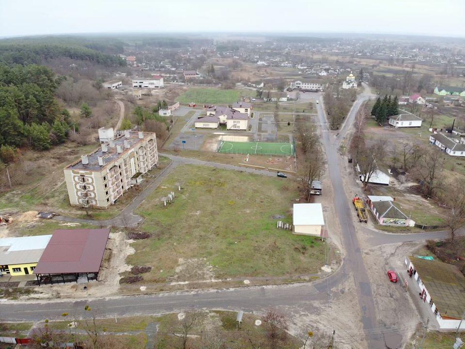 Бориспільщина: у Сошникові планують облаштувати сквер -  - 100867144 2747933308769111 960100214868279296 o