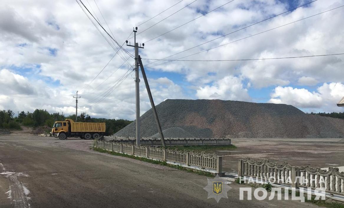 На Макарівщині вже 12 років незаконно видобувають граніт - Соснівка, Макарівський район, граніт - 21 granyt