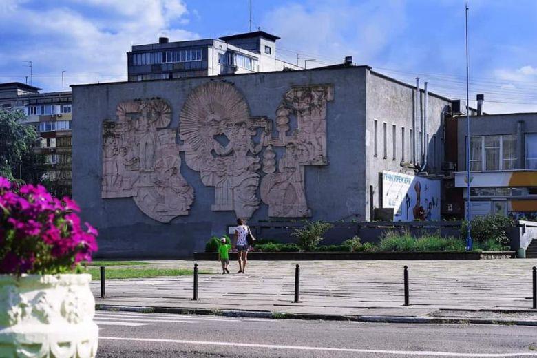 Вже без барельєфу: палац культури в Українці втратив історичну окрасу міста -  - 53918306 2011658039136827 8246342126057553920 n