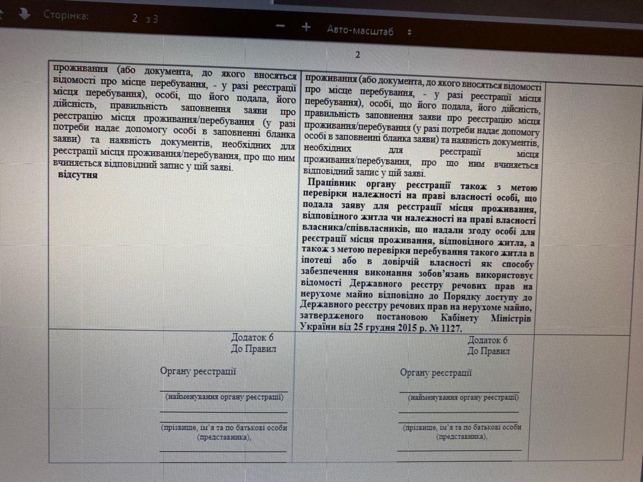 В Україні змінили правила прописки - зміни - photo 2020 05 27 13 20 38