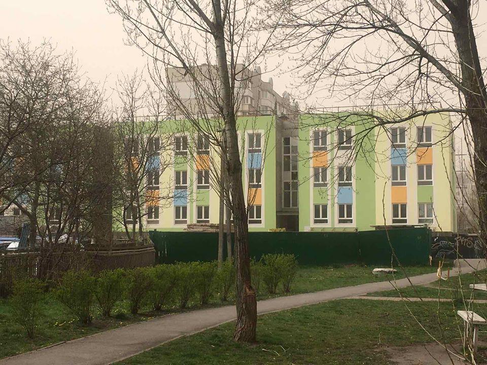 sadok1 У Вишгороді цьогоріч мають добудувати дитсадок на 150 місць
