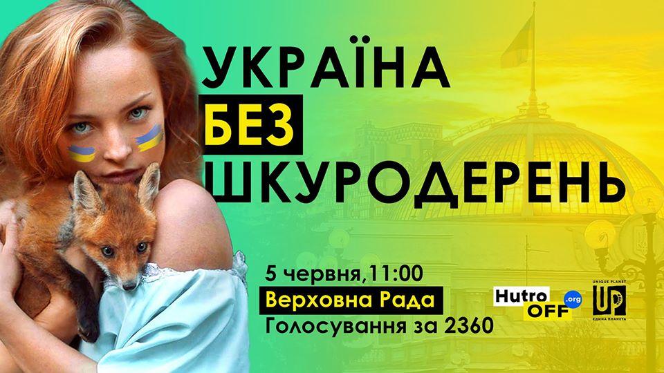 ХутроOFF: 5 червня київські зоозахисники вийдуть під стіни ВР -  - 04 shkuroderny 1
