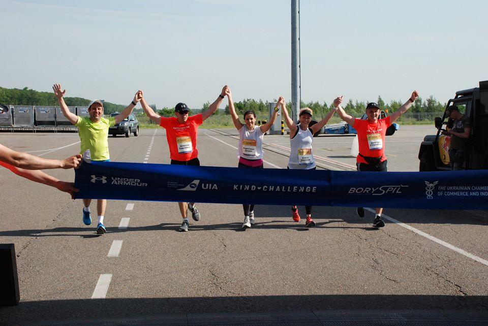 """У """"Борисполі"""" відбувся перший закритий благодійний марафон в Україні -  - 104195468 976134709523758 2319142204233470070 o"""