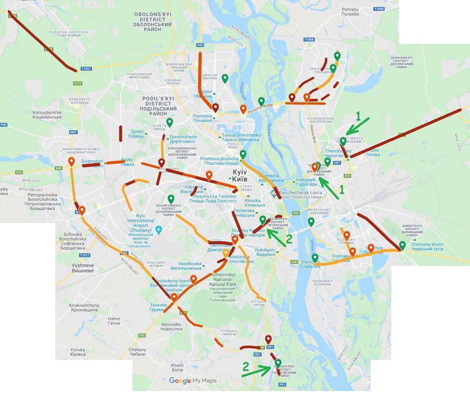 Киянин створив карту важких ДТП у столиці - мапа - 104213162 3386775391341814 5948534024406715500 o