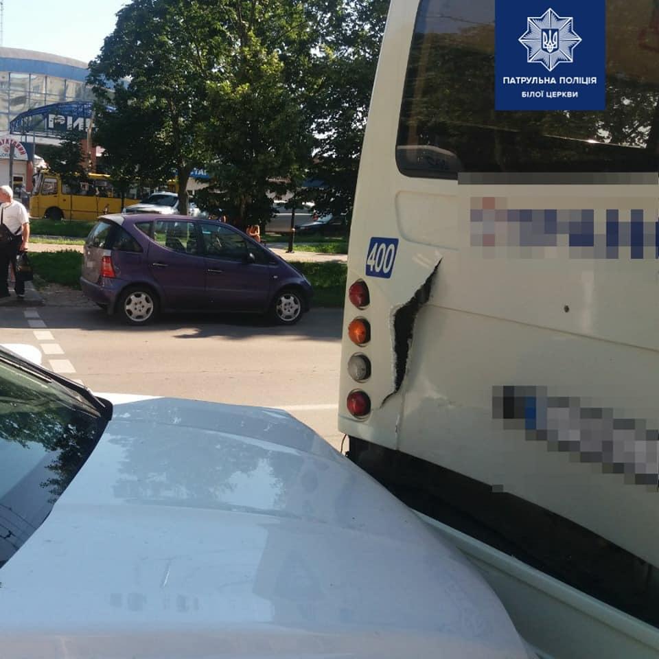 ДТП у Білій Церкві: зіткнулись дві автівки та автобус, збита жінка - ДТП, Біла Церква - 106004989 1699455320221521 4305400479934529114 n