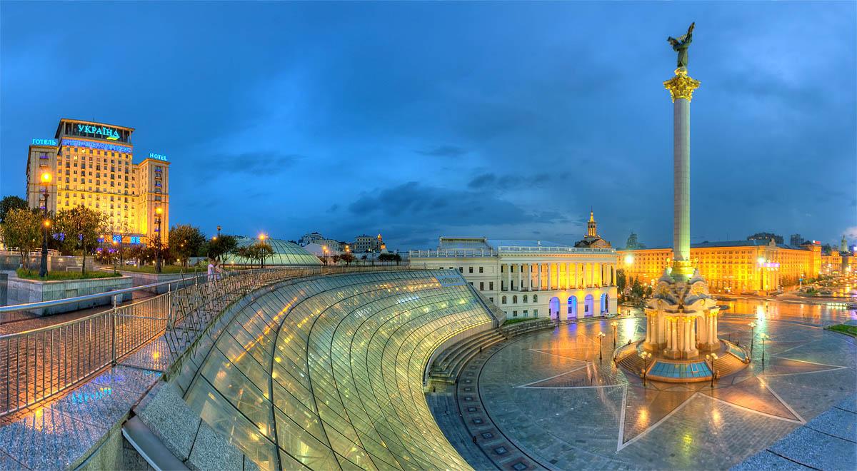 «Ворота в Київ»: запрацювала перша віртуальна екскурсія столицею -  - 1408694711 maidan20globus