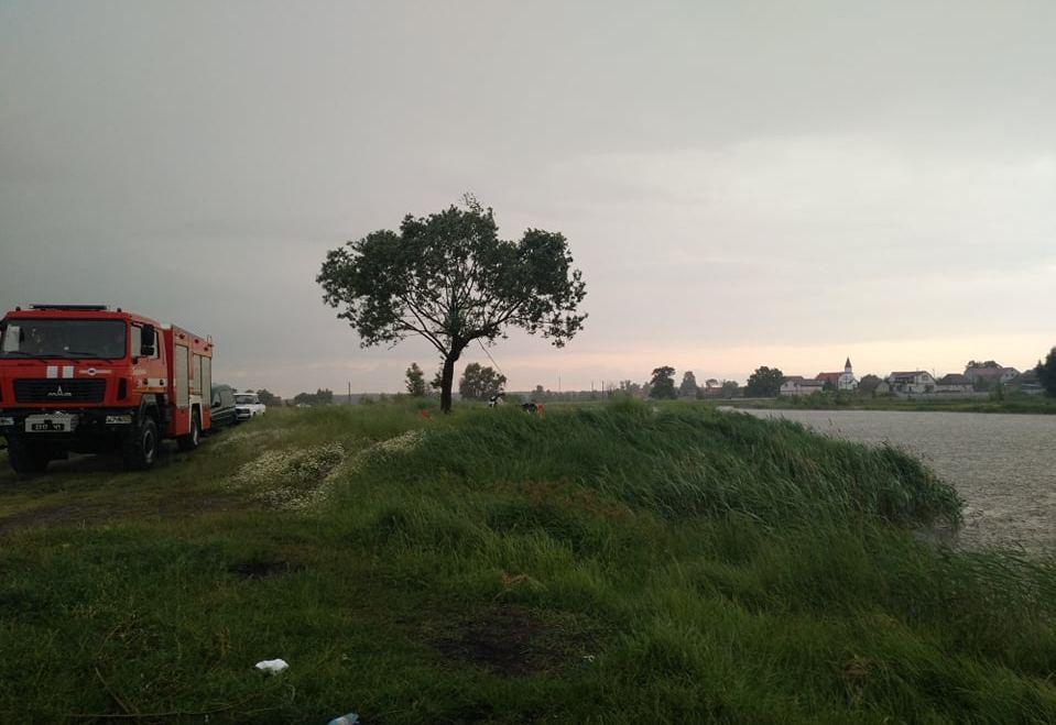 На Бородянщині у ставку втопився дідусь - Здвижівка, ДСНС - 2 2